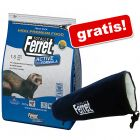 7,5 kg Totally Ferret Active  + Spieltunnel gratis!