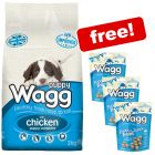 12kg Wagg Complete Puppy + 3 x Wagg Puppy Treats Free!*