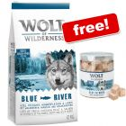 12kg Wolf of Wilderness Dry Dog Food + Freeze-dried Premium Snacks Free!*