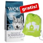 12 kg Wolf of Wilderness + Rucscac zooplus gratis!
