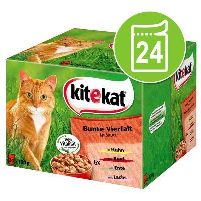 Kitekat Cat Food Pouches At Zooplus Kitekat Fresh Delight