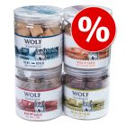 Økonomipakke 4 x Wolf of Wilderness - Frysetørket Premium-Snacks