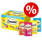10% korting! 4 x 30 g Catisfaction Selection Box