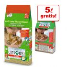 40 + 5 l gratis! 45 l Lettiera Cat's Best Original