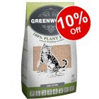 8l Greenwoods Natural Clumping Litter - 10% off!*