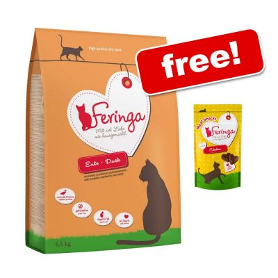 Large Bags Feringa Dry Cat Food + Feringa Meat Snacks Chicken Free!*