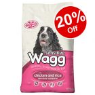 Large Bags Senior/Sensitive Wagg Dry Dog Food - 20% Off!*