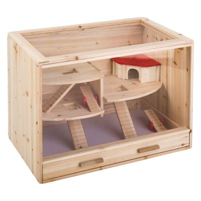 Loft Wooden Cage | Free P&P on orders £29+ at zooplus!