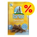 Lot Barkoo Dental Snacks