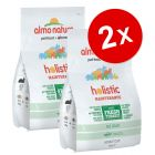 Lot de croquettes pour chat Almo Nature Holistic 2 x 2 kg