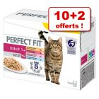 Lot mixte PERFECT FIT 10 x 85 g + 2 offerts
