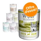 Lot mixte Wolf of Wilderness 800 g pour chien