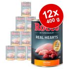 Lot Rocco Real Hearts 12 x 400 g pour chien