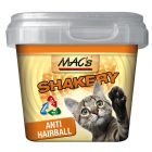 MAC's Shakery Anti-Hairball snacks para gatos