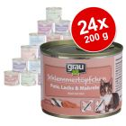 Megapack Mixto Grau sin cereales 24 x 200 g
