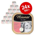 Miamor Sensibel 24 x 100 г - бонус опаковка