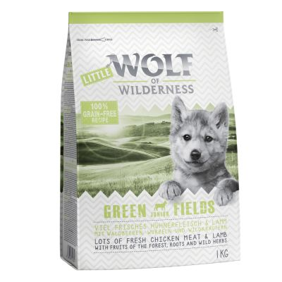 Miješano probno pakiranje: Little Wolf of Wilderness Junior (2 x 1 kg)
