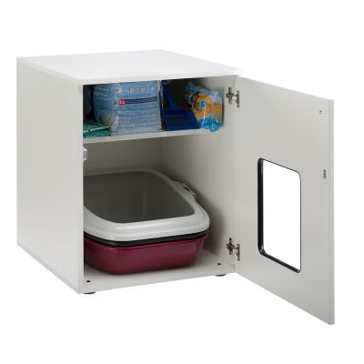 Mobile in legno per toilette per gatti zooplus - Mobile toilette ...