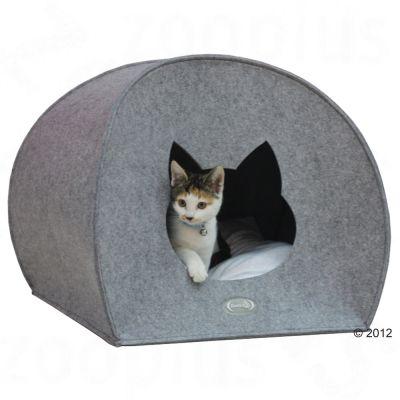 big filzi niche pour chat zooplus. Black Bedroom Furniture Sets. Home Design Ideas