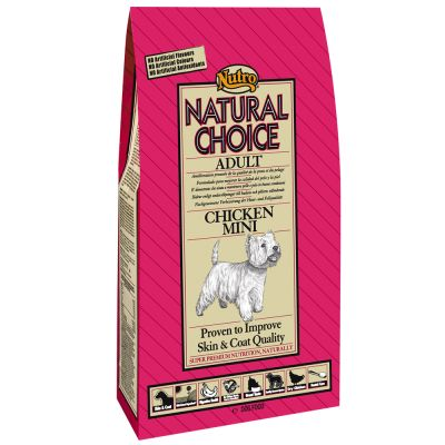 Nutro Natural Choice Adult Mini Pollo y arroz