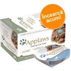 Pachet asortat Applaws Cat Pots 8 x 60 g