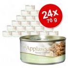 Pachet economic Applaws Kitten 24 x 70 g