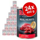 Pack Ahorro: Rocco Real Hearts 24 x 400 g