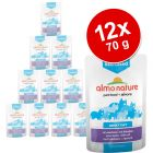 Pack económico: Almo Nature Sterilised saquetas 12 x 70 g