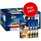 Pack gourmand : sachets Felix Tendres Effilés en gelée + friandises Felix Party Mix