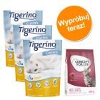Pakiet: 3 x 5l Tigerino Crystals + Concept for Life 400 g