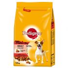 Pedigree Adult Mini Beef & Vegetables