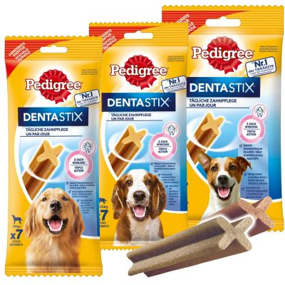 Taste Of The Wild Dog Food Reviews >> Pedigree Dentastix - Daily Oral Care | Great deals at zooplus!