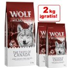Pienso Wolf of Wilderness 12 kg + 2 kg ¡gratis!