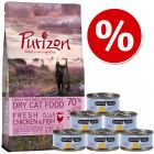 Poskusni set Kitten: Purizon 400 g  & Cosma Nature 6 x 70 g