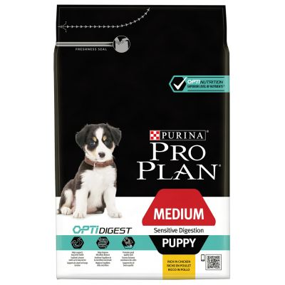PRO PLAN Medium Puppy Sensitive Digestion OPTIDIGEST