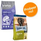 Probeerpakket Briantos Sensitive 3 kg & Happy Dog 4 kg