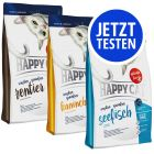 Probierpaket Happy Cat Sensitive Grainfree 3 x 1,4 kg