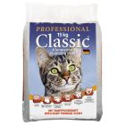 Professional Classic Cat Litter with Baby Powder Scent