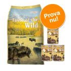 Provpack: 6 kg + 3 x 390 g Taste of the Wild