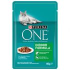 Purina One Indoor Formula 8 x 85 g