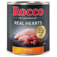 Rocco Real Hearts 6 x 800 g