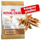 Royal Canin Breed + Dokas-kananrintatikkuja