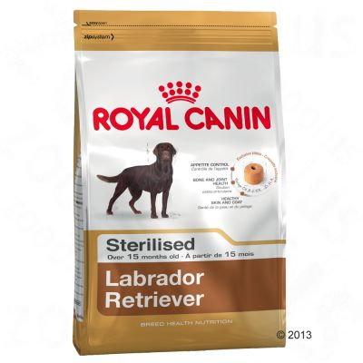 Royal Canin Breed Sterilised Labrador Retriever Adult