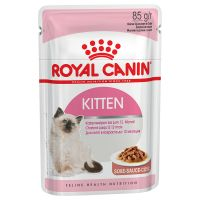 Royal Canin Kitten Instinctive en sauce pour chaton