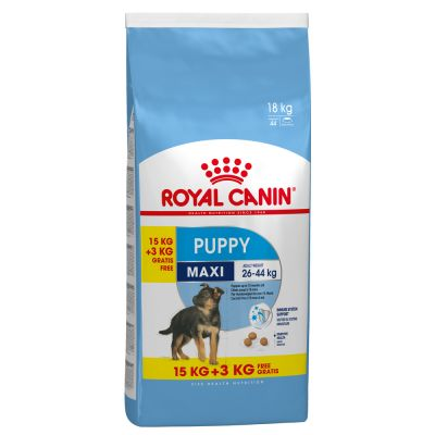crocchette per cani royal canin maxi puppy junior zooplus. Black Bedroom Furniture Sets. Home Design Ideas