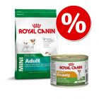 Royal Canin Mini, 8 kg + karma mokra Royal Canin 12 x 195 g w super cenie!