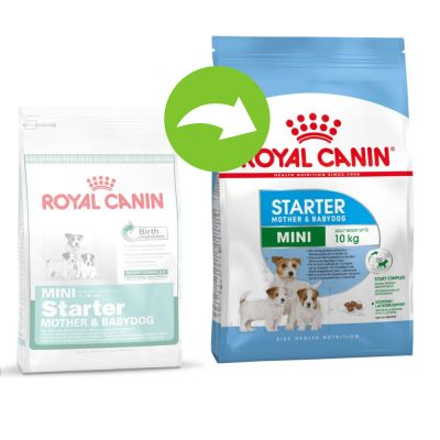Royal Canin Mini Starter Mother Amp Babydog Buy Now At Zooplus
