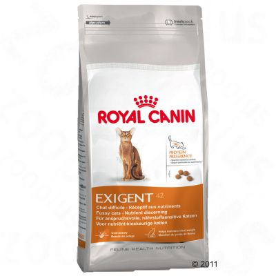 royal canin exigent 42 nutrition croquettes pour chat zooplus. Black Bedroom Furniture Sets. Home Design Ideas