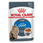 Royal Canin Ultra Light en salsa