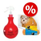 Set Pet Head Shampoo POOF SPRAY + Asciugamani microfibra SnuggleSafe